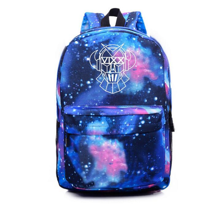 Vixx-Backpack School-Bag Laptop-Bags Usb-Charging Shoulder Casual Kpop for Kids New-Arrival