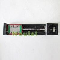 HIWIN KK60 Industrial Robot 210mm Stroke Guide Systems KK6005C 300A1 F4 NEMA23 Size Linear Table KK