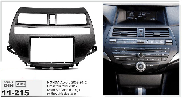 11 215 Top Quality Car Dvd Cd Radio Fascia For Honda