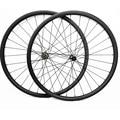 29er Углеродные mtb колеса дисковые бескамерные 34x30 мм симметричный 6 болт и центральный замок D411SB/D412SB 100X15 142X12 колеса горного велосипеда