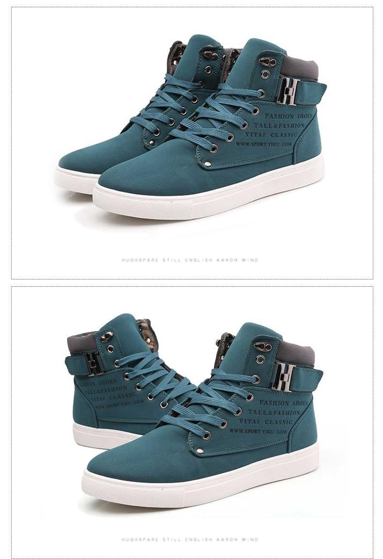 HTB1583yAeOSBuNjy0Fdq6zDnVXal DEKABR Hot Men Shoes Fashion Warm Fur Winter Men Boots Autumn Leather Footwear For Man New High Top Canvas Casual Shoes Men