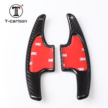 Т-карбоновое волокно сдвиг весла чехлы подходят для VEZEL, XRV, Fit