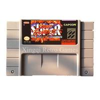 Super Nintendo SFC/Jogo de SNES Super Street Fighter II Os Novos Desafios Cartucho de Jogo de Vídeo Console Cartão Inglês DOS EUA versão
