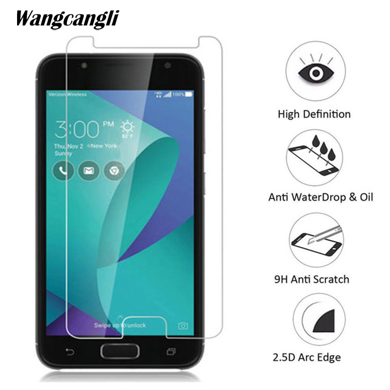 wangcangli 9H tempered glass for ASUS V520KL screen protector phone protective glass 0.3mm Ultra-thin protective flim