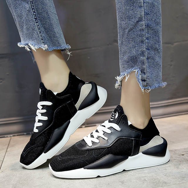 US $20.06 45% OFF|Kjstyrka 2018 Brand Designer spring autumn fashion breathable casual woman tenis feminino comfortable ladies sneaker espadrilles in
