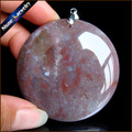 Natural Agate Gem Stone Necklaces & Pendants Unparalleled India Agate Bijoux Trendy Round Women & Men Jewelry Charms Beads DS655