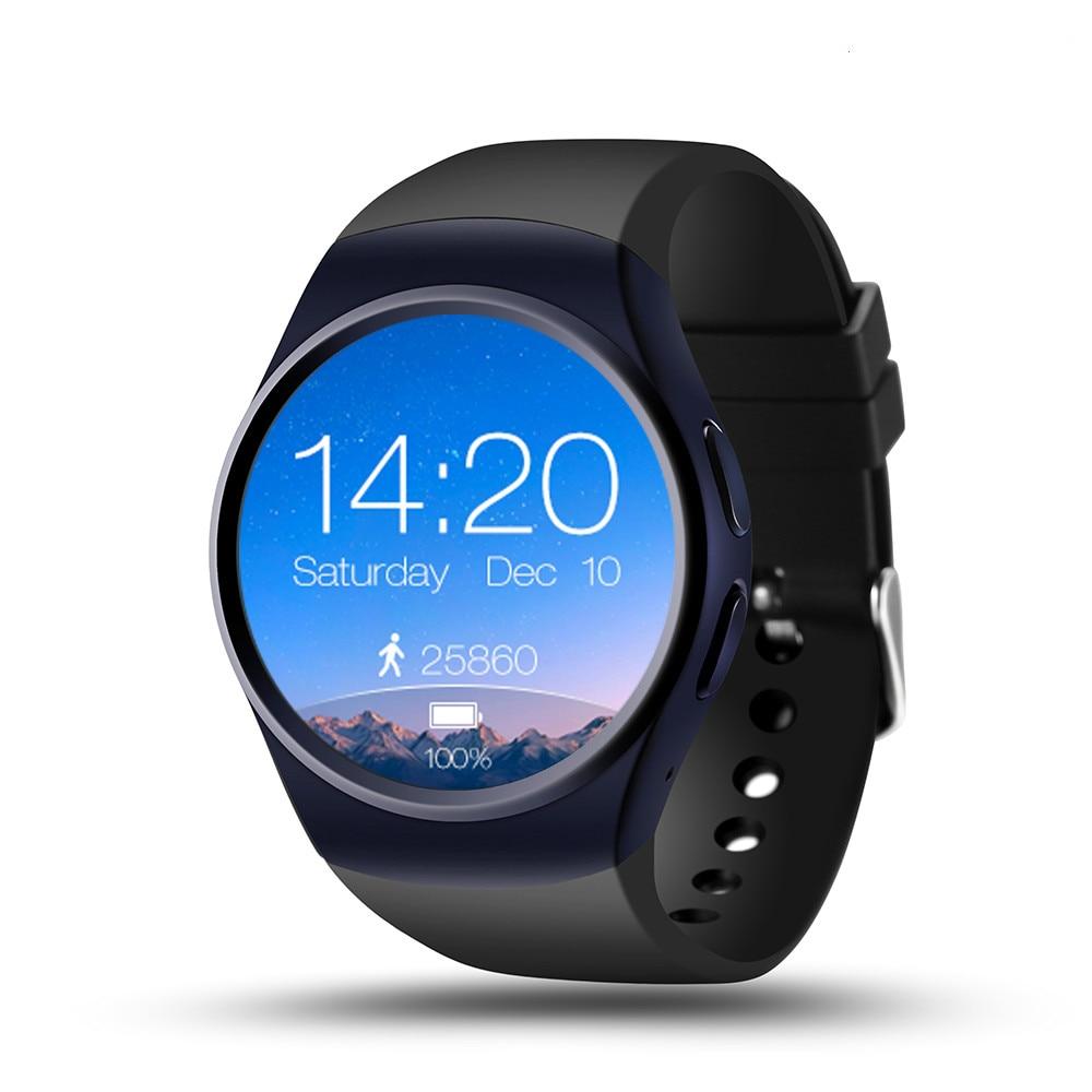 2019 offre spéciale KW18 montre intelligente Support de téléphone SIM TF carte moniteur de fréquence cardiaque horloge