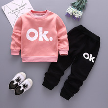 baby boys clothing sets spring autumn newborn casual sweatshirt+pants 2pcs tracksuits for