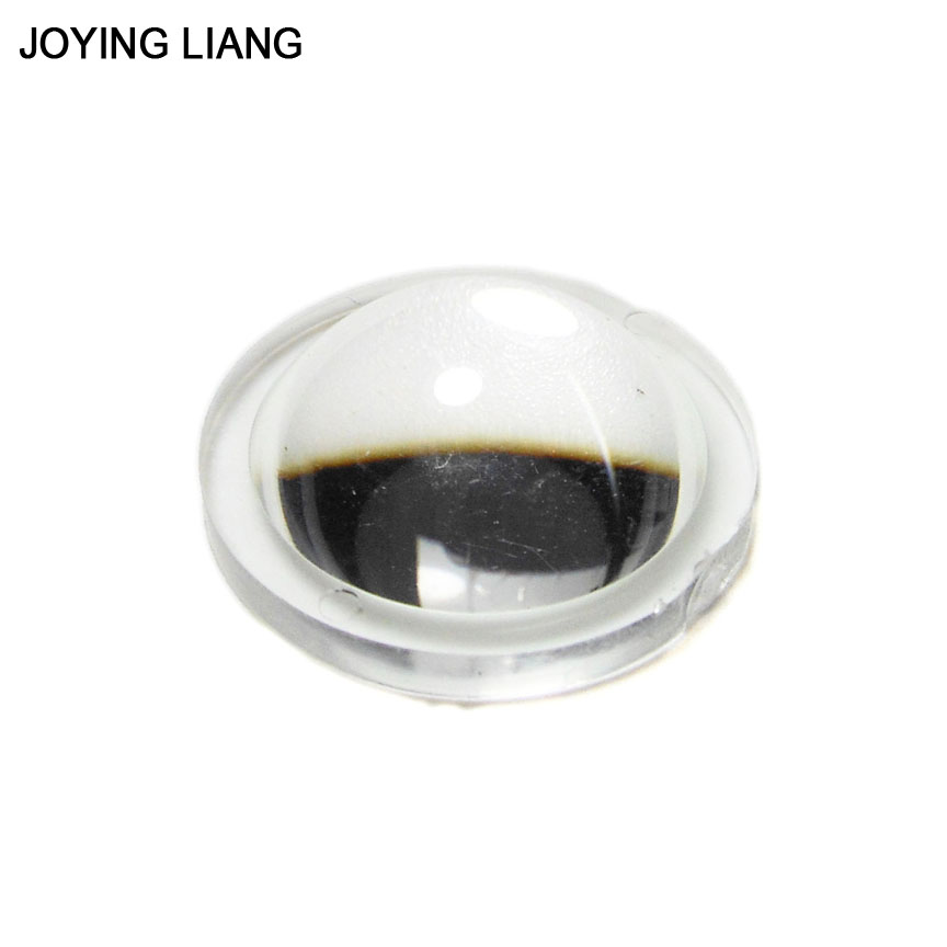 Joying Liang Middle 21.8mm Flashlight Lens Electric Torch Light Focusing Acrylic Lens Portable Light
