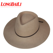 Зимние шерстяные фетровые шляпы с большими полями для женщин, женские фетровые шляпы от солнца,, PWFE062