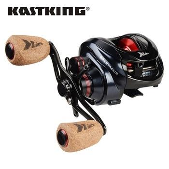 Carrete de Baitcasting KastKing Spartacus /Spartacus Plus carrete de sistema de freno doble carrete 8KG arrastre máximo 11 + 1 BBs 6,3 1 carrete de pesca de alta velocidad