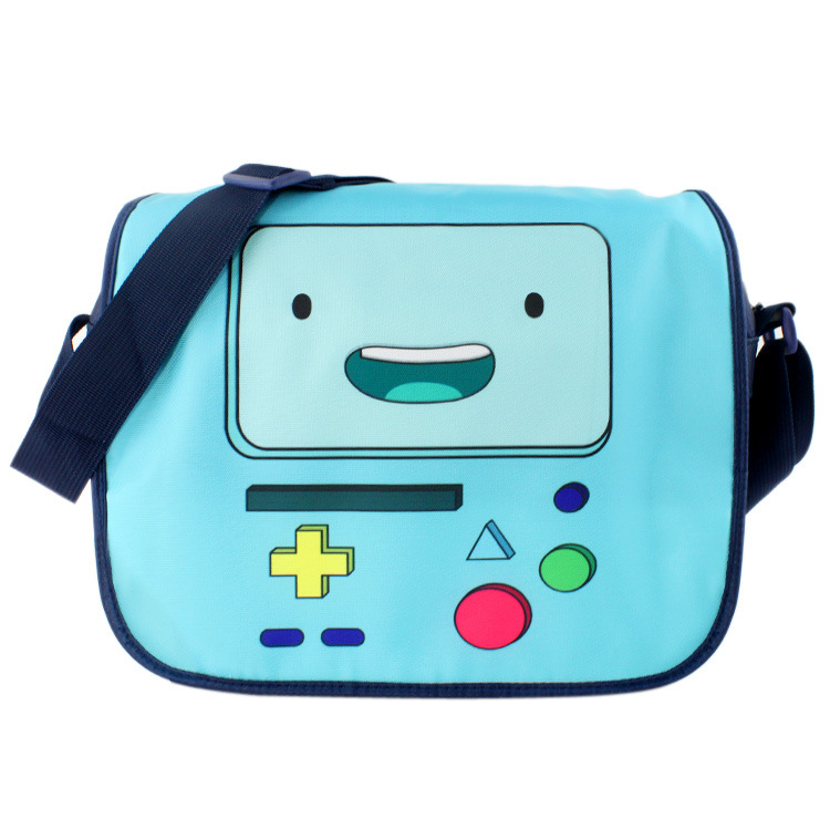 Lovely Candy Color Bag Anime Cartoon Adventure Game Satchel Bolsos Kids Students School Bag Boy Girl Fashion Messenger Bags