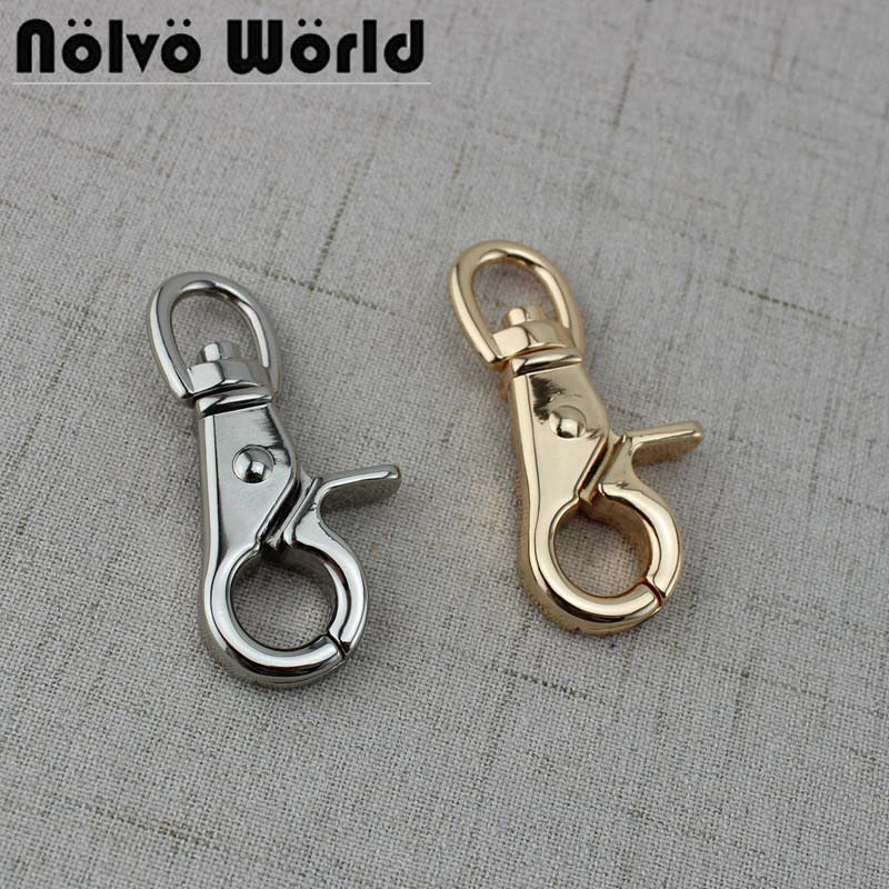 11mm Metal Swivel Lobster Clasps Clip Snap Hook Thick Clasp  Key Chain Outdoor Lanyard Craft Bag Parts
