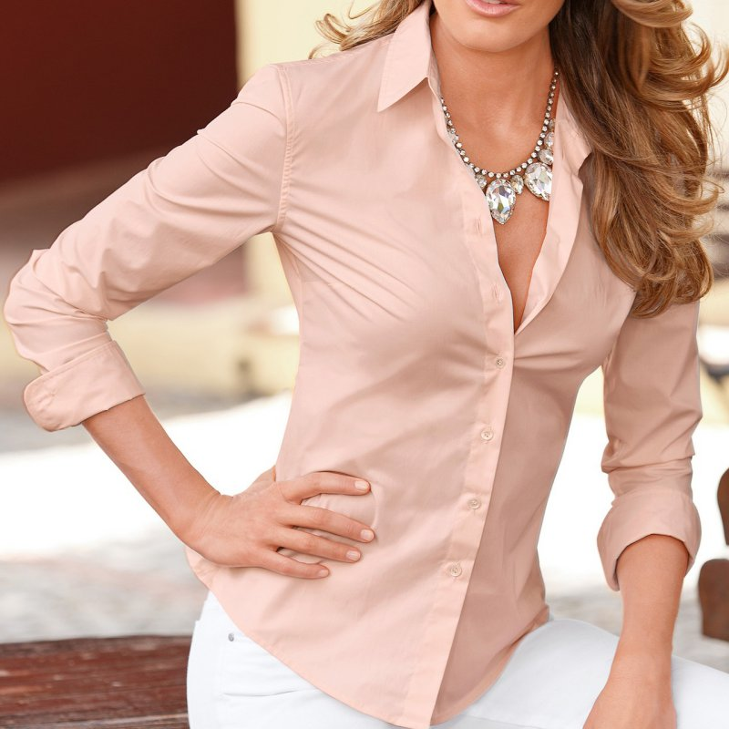 blouse slim fit