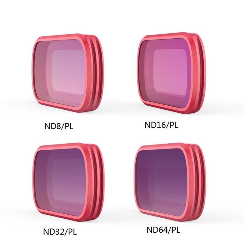 PGYTECH caméra professionnelle Len filtre UV CPL ND8 ND16 pour DJI OSMO poche ND-PL (ND8/ND16/ND32/64)