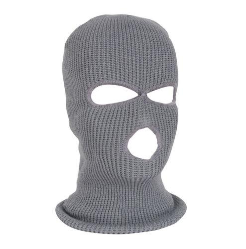 Image 3 - Армейская тактическая маска, 3 отверстия, маска для лица, лыжная маска, зимняя шапка, Балаклава, капюшон, мотоциклетный шлем, полный шлем для лица, Новинка-in Мотоциклетная маска from Автомобили и мотоциклы on AliExpress
