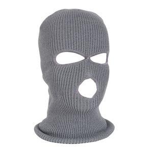 Image 3 - Army Tactical Mask 3 Hole Full Face Mask Ski Mask Winter Cap Balaclava Hood Motorbike Motorcycle Helmet Full Face Helmet NEW