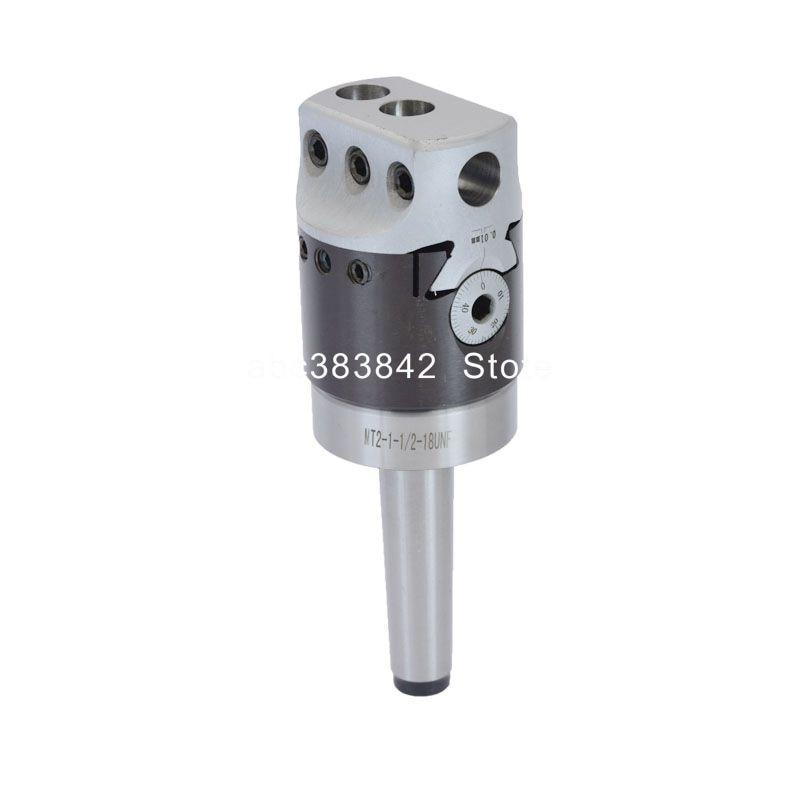 F1-12 Boring Head Diameter 50mm Mt3-m12 Mt4-m16 Mt2-m10 Boring Bar Universal 2-inch Mohs Taper Shank Turning Tool Boring Head