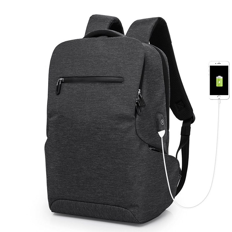 LHLYSGS Mark Ryden Waterproof Business Men's Backpack Travel Fashion Anti-thief USB Recharging Laptop Backpack Women School Bag