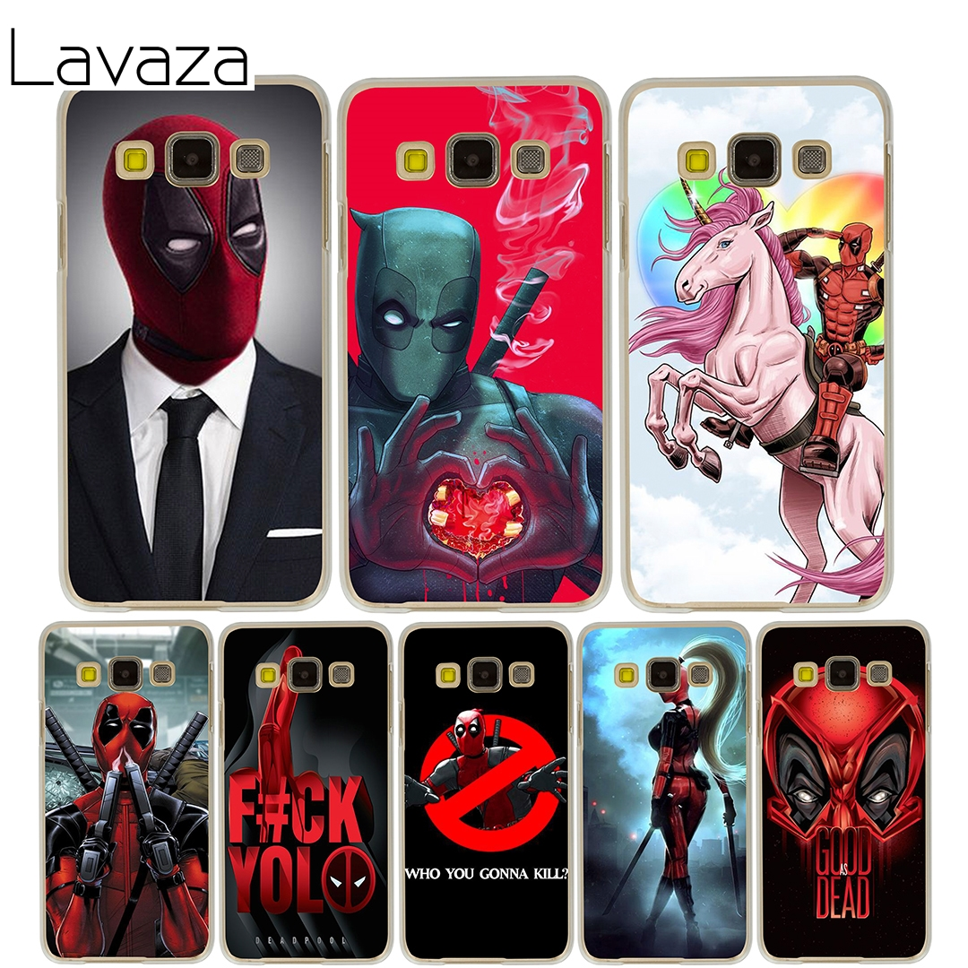 Lavaza deed pool Case for Samsung Galaxy A3 A5 2015 2016 2017 A8 Plus 2018 Note 8 5 4 3 2 Grand 2 Prime