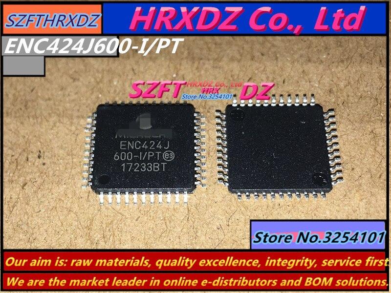 SZFTHRXDZ    100%  new  original  10pcs  ENC424J600 I/PT  ENC424J600  TQFP44-in Connectors from Lights & Lighting    1