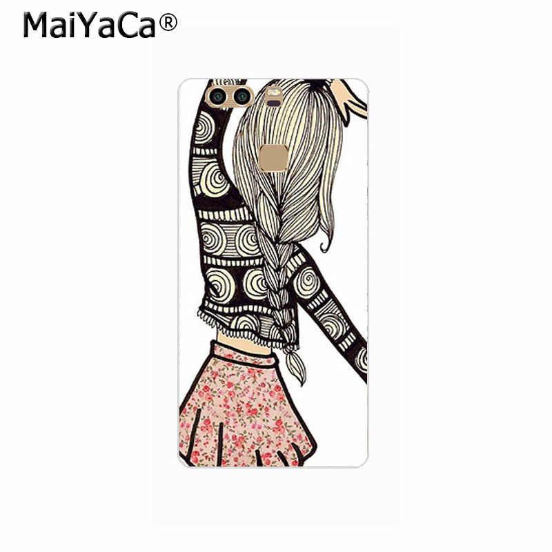 MaiYaCa أفضل صديق كوكه قذيفة الهاتف حافظة لهاتف huawei P10Plus P9 P10 P8 P7 P6 Xiaomi 3 4 Redmi2 Redmi Note2