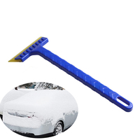 Newest Snow Shovel Scraper Winter Useful Car Ice Scrapers Stainless Ice Removal Cleaning Tool For Car