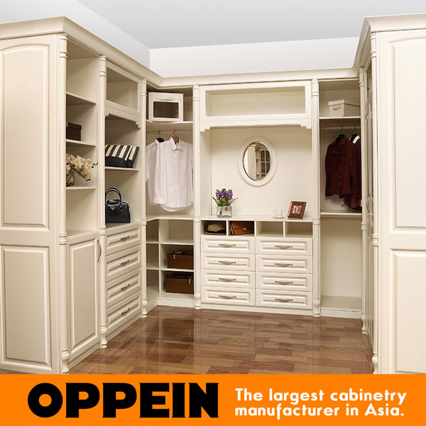 Chinese New Design Bedroom Closet Wood Wardrobe Cabinets Yg61527