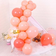 10pcs 10inch Coral Red Latex Balloons Inflatable Helium Wedding Birthday Party Decoration Air Balls Baby Shower Supplies