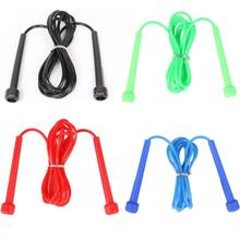 Free Shipping New Practical Aerobic Exercise Skipping Jump Rope Adjustable Bearing  Corda Speed Fitness For Wholesale aerobic power workout