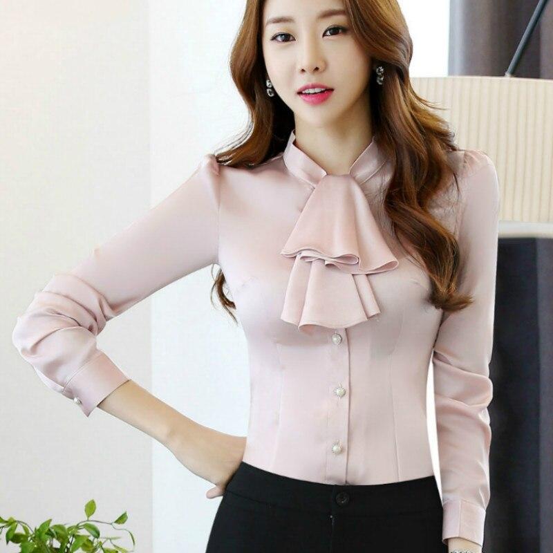 dd8bf6d3ac537f 2016 New long sleeve women ruffle shirts women pleated chiffon blouse  chiffon shirts office tops body