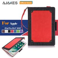 AJAKES High Quality Case For IPad Pro 10 5 Premium Leather Multi Functional Flip Stand Cover