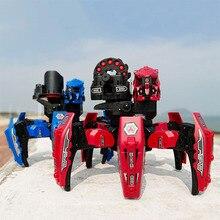 RC шестифутовый пульт дистанционного управления, робот-паук, мультиплеер, 2,4G, крутой робот с дистанционным управлением, сделай сам, съемка, игровая модель, Детская Интерактивная