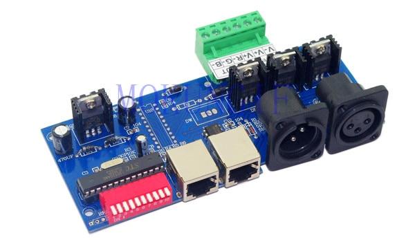 Licht & Beleuchtung Schnelles Verschiffen 5 Stücke Dmx512 Controller Led Dmx 512 Decoder 3ch/4-kanal Dmx512 Controller Streifen Dmx-net-k-3ch-ban/dmx-net-k-4ch-ban Eine GroßE Auswahl An Waren Rgb-controller