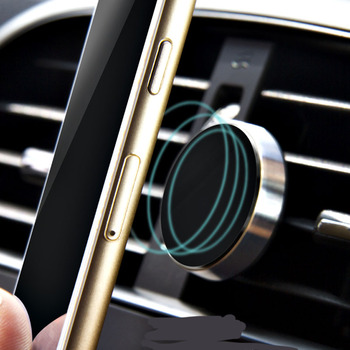 Car GPS vent magnet phone holder for Peugeot 206 207 208 301 307 308 407 2008 3008 4008 Automobile Accessories image