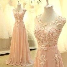 bridemaid dress vestido longo sexy sho me 2018 new cheap pink lace bridesmaid dresses Wedding Party Dress vestido real photos