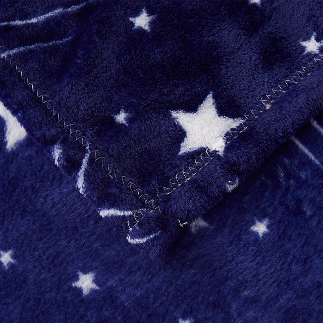 Polyester Blanket with Stars Pattern 4
