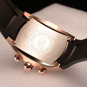 Image 5 - 2020 Reef Tiger/RT Luxury Waterproof Sport Watches Date Rose Gold Rubber Strap Military Mens Watches Relogio Masculino RGA3069 T