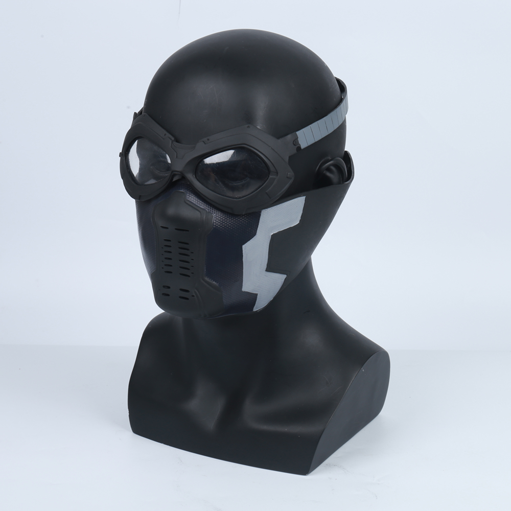 Winter Soldier James Buchanan Barnes / Bucky Barnes PVC Mask Cosplay Adlut Masks Glasses