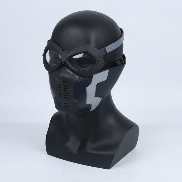 US $37 19  Winter Soldier James Buchanan Barnes / Bucky Barnes PVC Mask  Cosplay Adlut Masks Glasses-in Boys Costume Accessories from Novelty &  Special