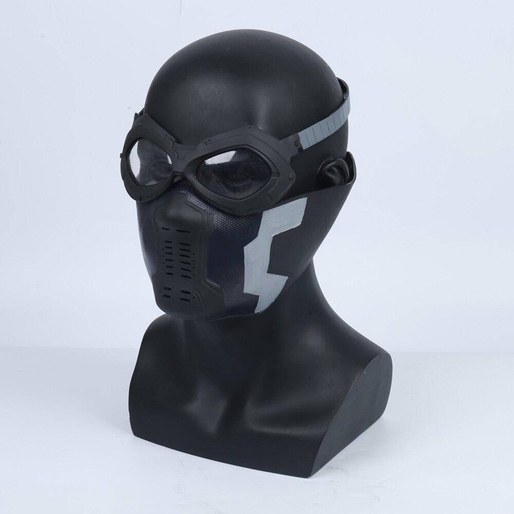 冬の兵士ジェームズブキャナンバーンズ/バーンズpvcマスクコスプレadlutマスクメガネ