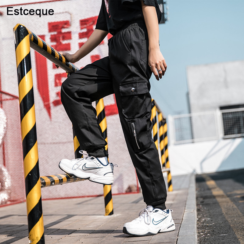 Streetwear Cargo   Pants   Women Casual Joggers Camouflage Loose Female Trousers Korean Style Ladies Overalls   Pants     Capri