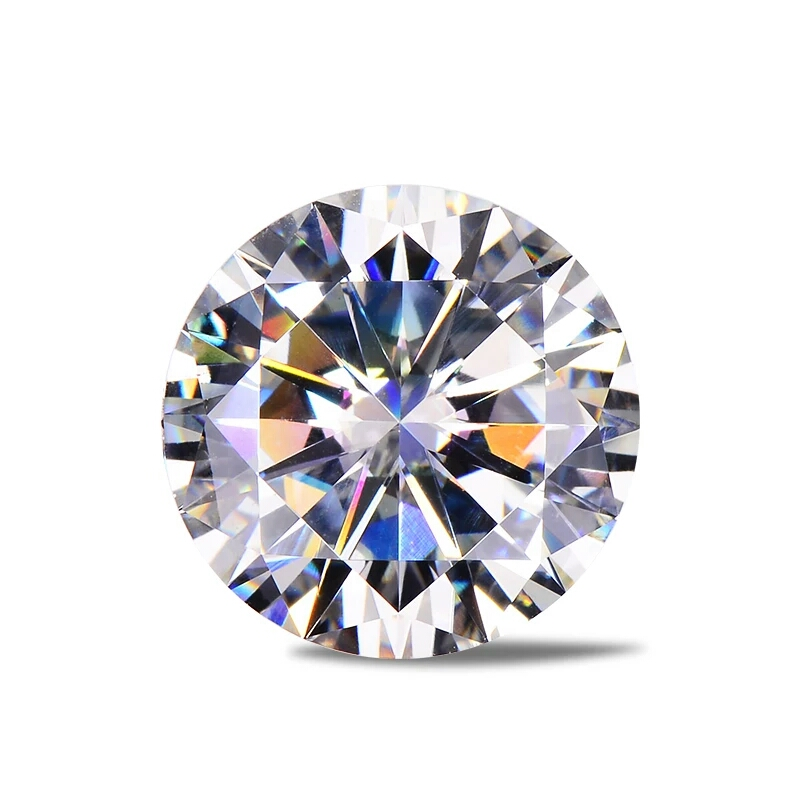 1 Pezzo D Di Colore Eccellente Cuori E Frecce Tagliare Moissanites 6.5 Millimetri Moissanite Del Diamante Di Pietra Allentati Per Monili Che Fanno