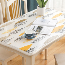 Soft plastic 3D PVC tablecloth waterproof oil-proof Transparent coffee table mat Party table decoration 1mm printed table cover europe luxury party tablecloth non slip waterproof table cloth oil proof pvc soft glass plastic table cover coffee table mat