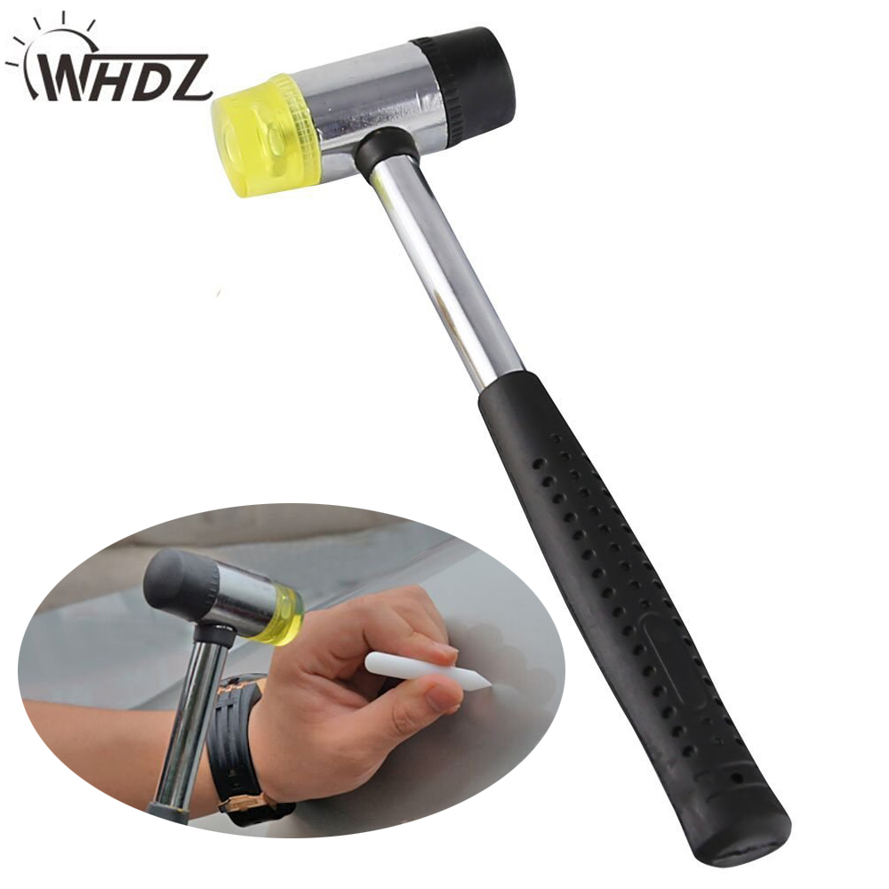 Multifunctional Mini Double Sided Rubber Hammer Car Dent