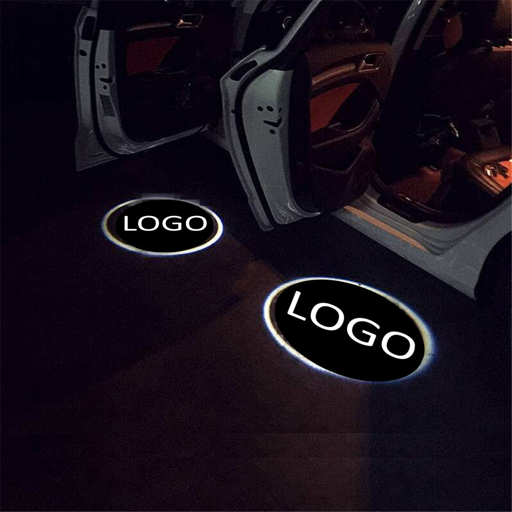 Haoyuehao Car welcome lamp door laser projection lamp ground light for VW for Ssangyong for Abarth