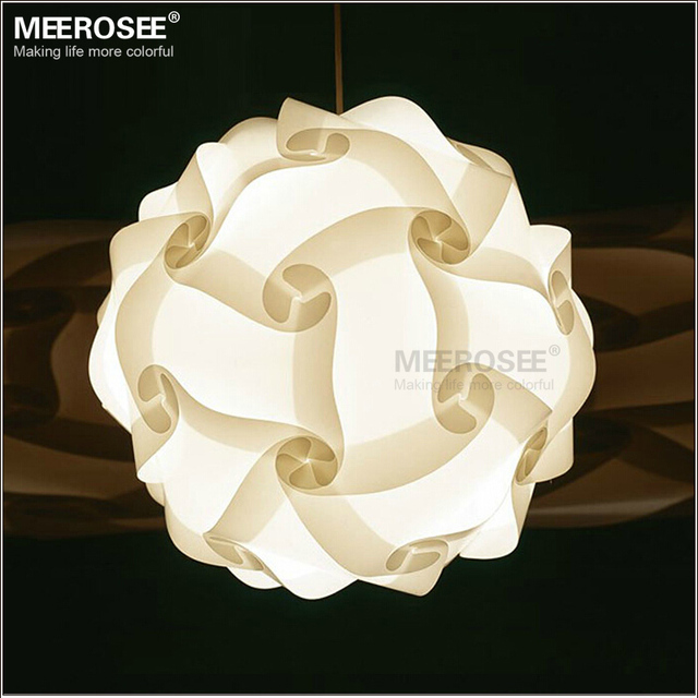 DIY Modern Pendant Ball novel lamp Plastic pendant lamp white color pendant lights,size 25cm/30cm/40cm