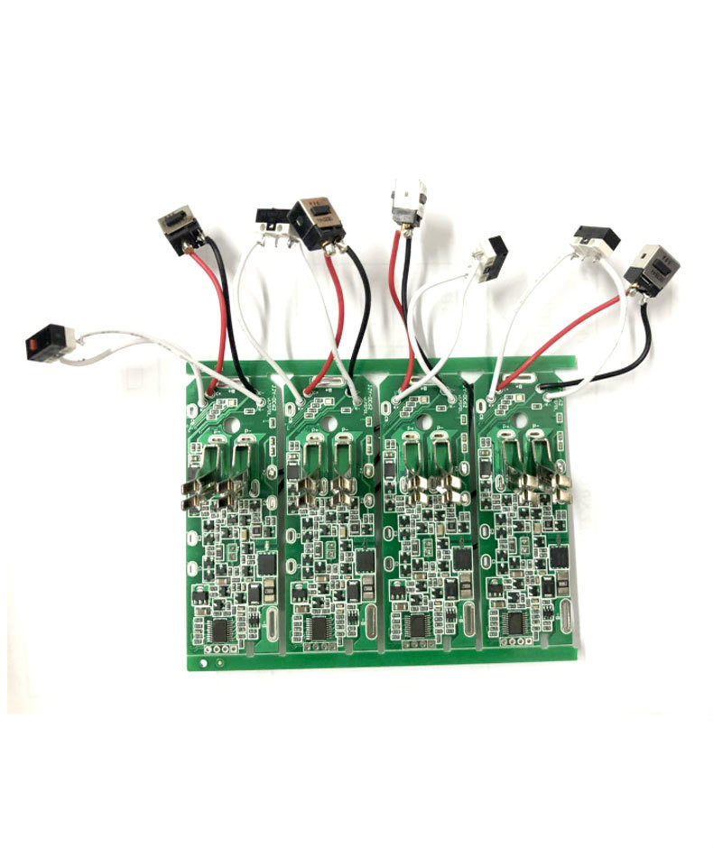 Charger Socket And Switch For The V6 Pcb For Dyson V6 C58 Dc62 21.6V Vacuum Cleaner Li-ion Battery PCB(NO PCB Included)