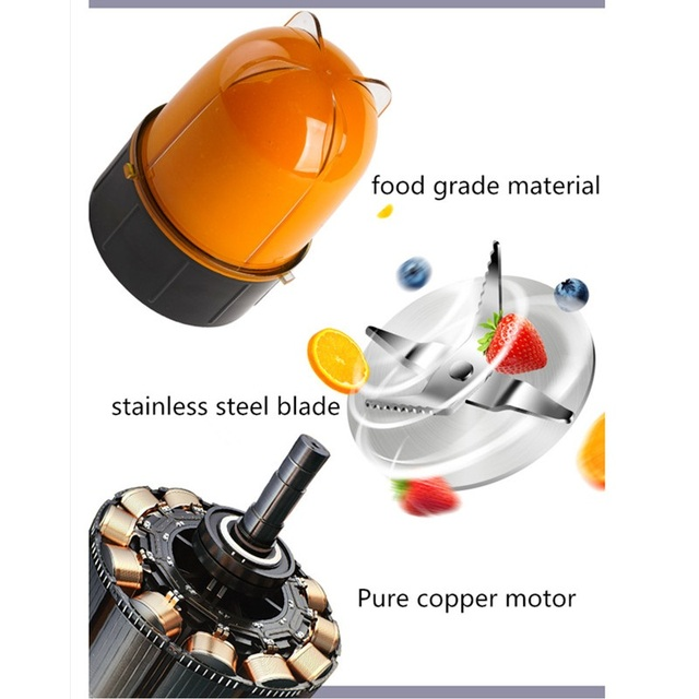 220V Household Electric Juicer Mini Multi Automatic Blender Juicer Machine High Quality Mini Juicer EU/AU/UK Plug