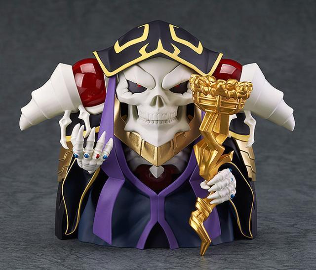 Anime Overlord Ainz OOal Gown Nendoroid 631 Cute Kawaii Super Hero 10cm Action Figure Toys 2